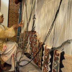 Tapisserie artisanale de Kairouan